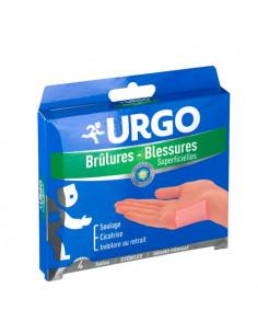 Urgo Brûlures - Blessures superficielles. Tulles. Petit ou Grand format. Grand format 8cmx8cm
