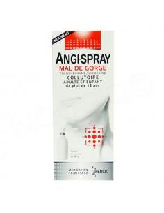 Angi-Spray Mal de gorge Collutoire Adulte et enfant (+12 ans) Flacon 40g