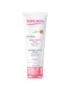 Topicrem Hydra+ Crème Teintée Eclat SPF40. 40ml Teinte medium