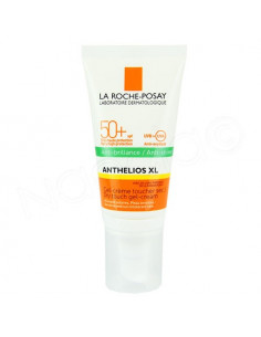Anthelios XL Anti-brillance SPF50+ Gel Crème Toucher Sec sans traces blanches. 50ml