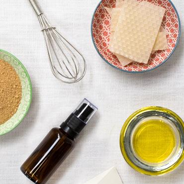 cosmétique maison ingrédients ustensiles recette