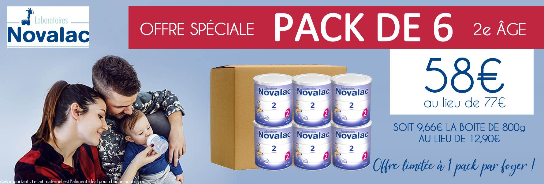 Novalac 2 pack de 6